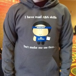 """I have mad ABA skills"" Men's Hoodie"